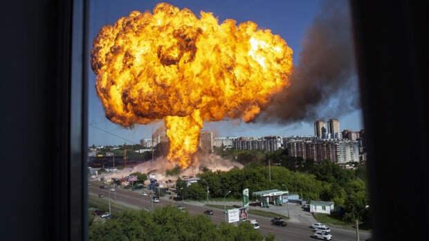 Дело о взрыве на АЗС в Новосибирске передали в центральный аппарат СК