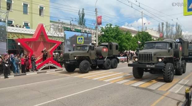 Военный парад в городе-герое Керчи показал мощь Черноморского флота России