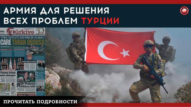 Турция хочет решить свои проблемы единой «пантюркистской армией»