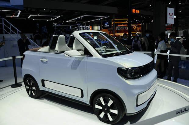 Представлен электрический кабриолет чуть дороже $4000