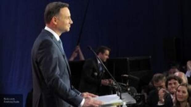 Президент Польши Дуда пообещал помочь Украине «вернуть Крым и Донбасс»