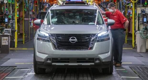 Концерн Nissan построил первый образец Pathfinder 2022