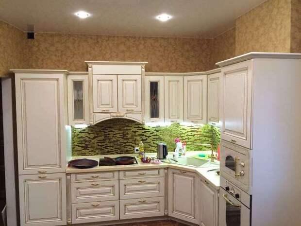 Как покрасить фасад кухни своими руками (81 фото)