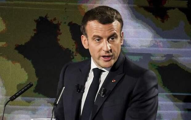 Президент Франции Макрон прокомментировал инцидент с пощечиной