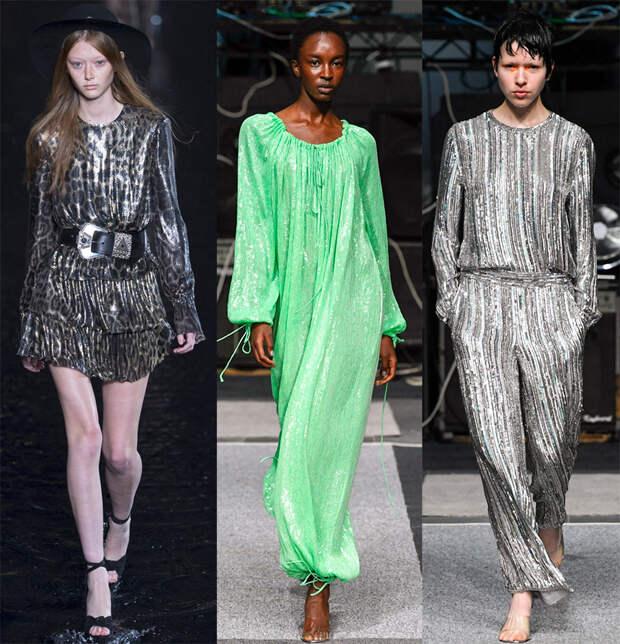 Блеск – модный тренд 2019