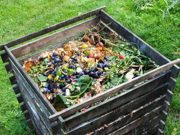 Отходы несем в огороды