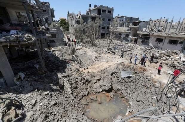 В ЕК приветствовали решение о прекращении огня между Израилем и ХАМАС