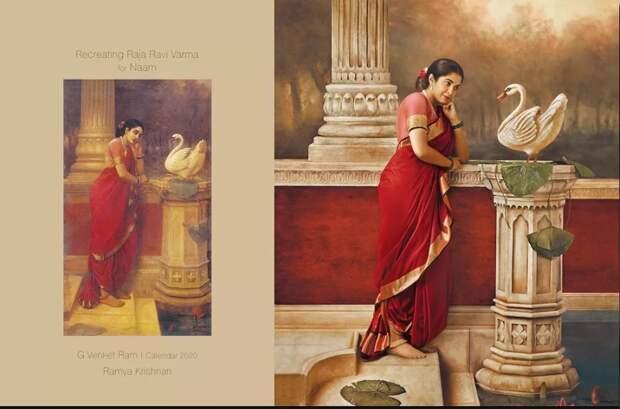 Как на картине: индийский фотограф воспроизвел полотна XIX века