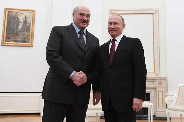 Песков анонсировал долгие переговоры Путина и Лукашенко