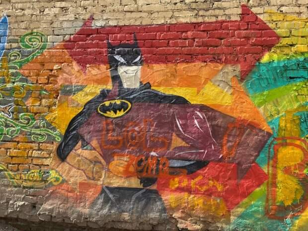 Фото дня: савеловский Бэтмен