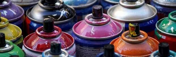 В Алматы закрасили около 150 наркограффити