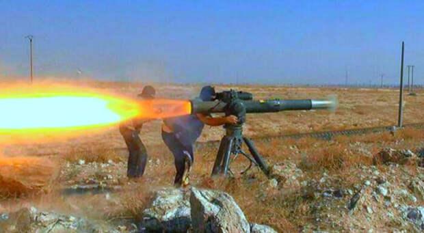 Террористы «Хайят Тахрир аш-Шам» расстреляли военных РФ изПТРК