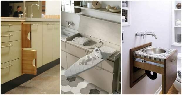 Функциональная мебель, которая подходит даже для самых маленьких квартир