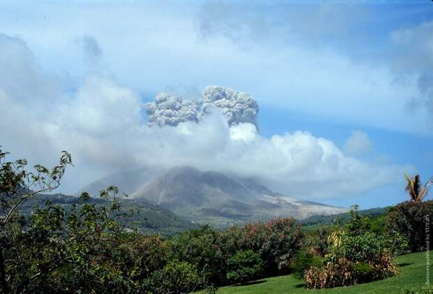 Самые крупные извержения вулканов в XXIвеке