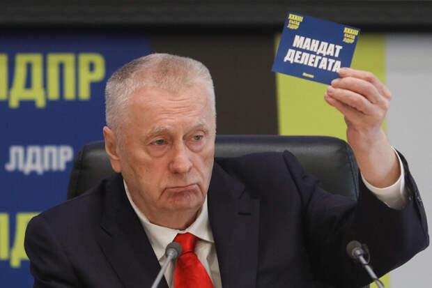 Жириновский призвал сохранить международный комитет Госдумы за ЛДПР