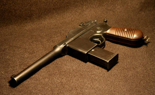 Немецкий пистолет элиты Красной Армии