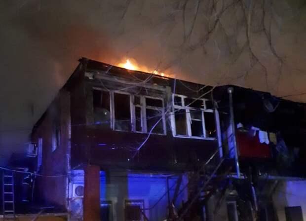 Жильцы горевшего дома в Краснодаре получат выплаты
