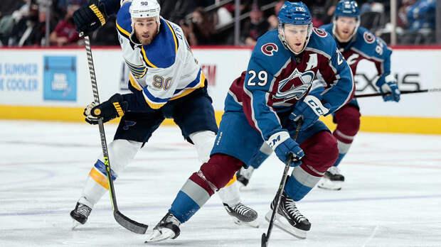 Передача Барбашёва не спасла «Сент-Луис» от поражения «Колорадо» в первом матче плей-офф НХЛ