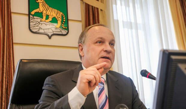 Мэр Владивостока Олег Гуменюк уходит в отставку