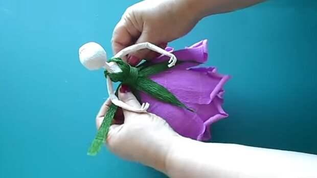 Клей, ножницы, гофрированная бумага и в вашем доме поселятся феи