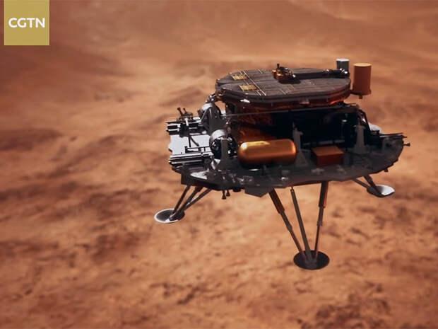 В Китае назвали сроки посадки марсианского аппарата Тяньвэнь-1