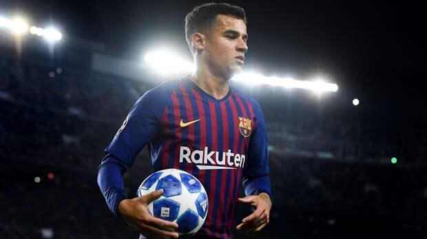 Финансовое положение может вынудить «Барселону» не выпускать Коутиньо на поле до конца сезона