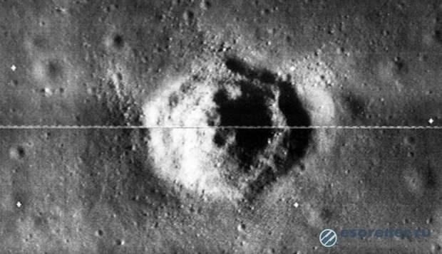 На Луне обнаружили идеально ровную шестиугольную базу пришельцев