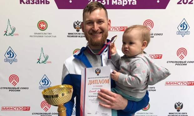 Стрелки Леонид Екимов иСтанислав Кузнецов завоевали «золото» и«серебро» чемпионата России