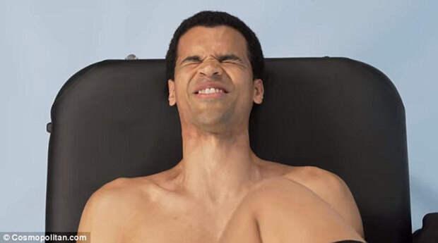 Как мужчинам делают эпиляцию зоны бикини