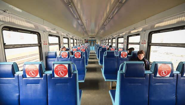 Свыше 26 тысяч плакатов о коронавирусе разместили на станциях и в поездах ЦППК