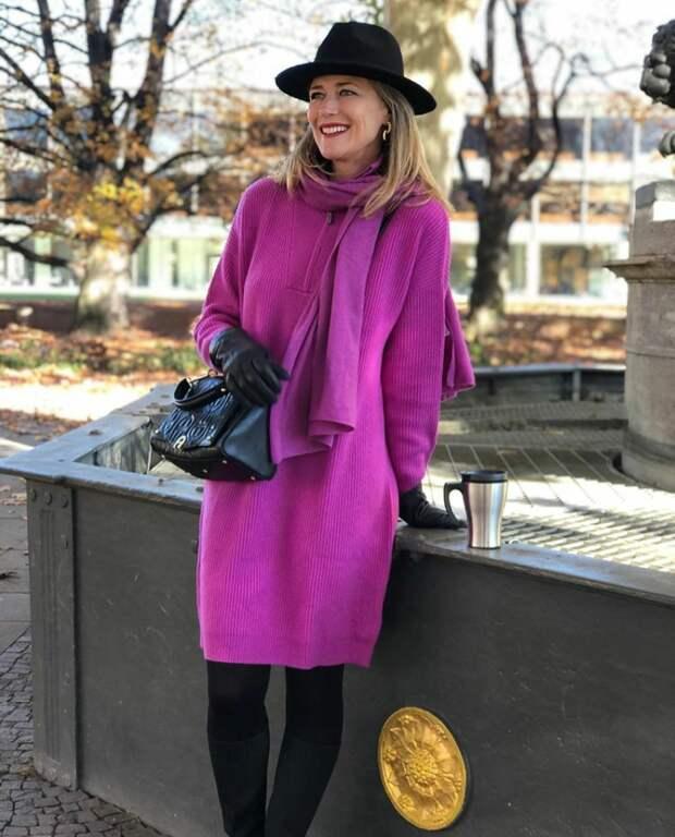 Как выигрышно использовать фиолетовый цвет в образе: привлекательные сочетания для тех, кто хочет выглядеть элегантно