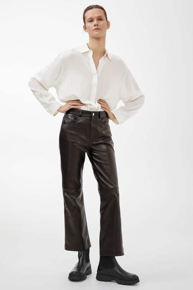 Кожаные брюки: какие купить и с чем носить