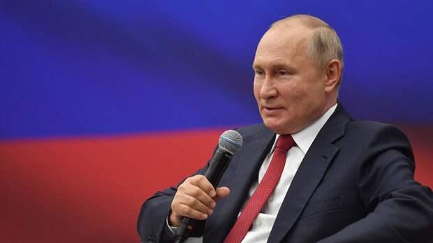 Владимир Путин отметил хорошо развивающиеся показатели Москвы