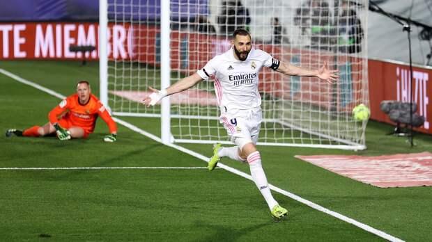 «Ни хрена себе Бензема исполнил». Форвард «Реала» красивым ударом открыл счет в матче с «Барселоной»
