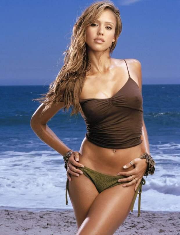Джессика Альба-актриса, на которых можно смотреть бесконечно.