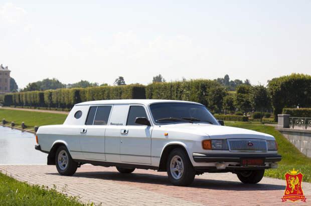 Попытка НАМИ создать «Чайку» из ГАЗ-3102 «Волги» в 1988 году
