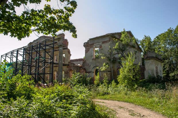 Господский дом Альбрехтов, 2019г.