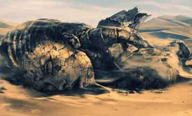 Следы древних машин: ученые находят окаменелости в земле