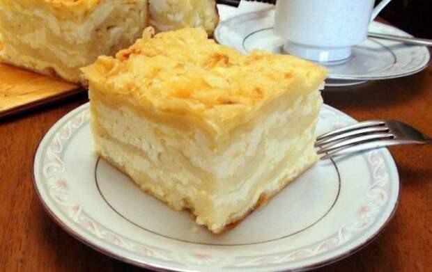 Ачма с сыром и творогом.