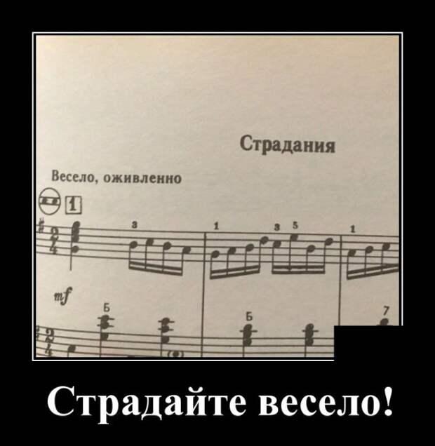 Демотиватор про музыку