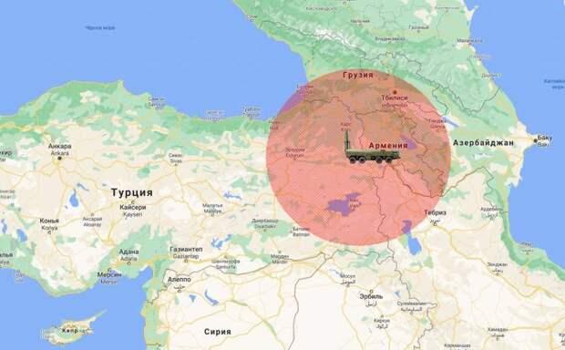 Анкара играет с огнем: армянские «Искандеры» способны накрыть турецкие военные базы