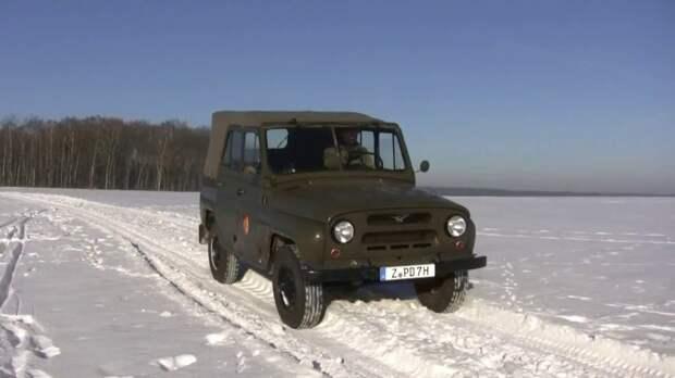 В Финляндии высоко оценили возможности российского авто УАЗ-469