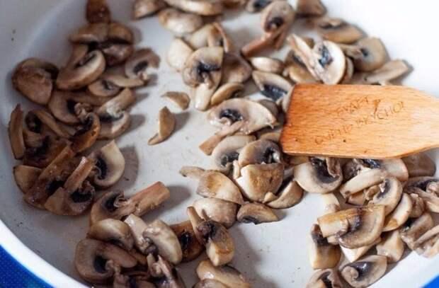 Запеченная картошечка с грибами и сметаной еда, своими руками, сделай сам