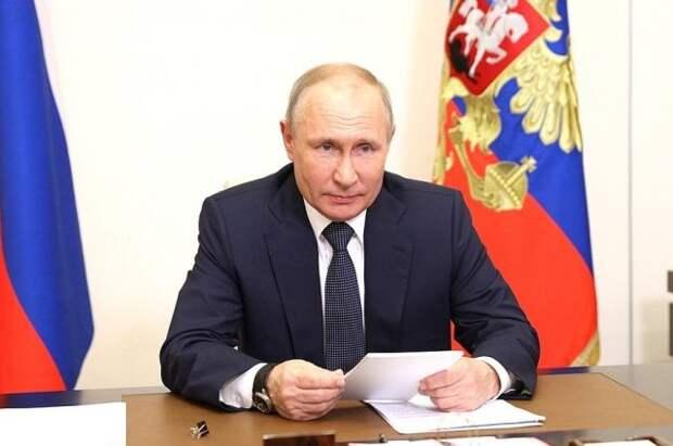 Путин предложил расширить программы поддержки многодетных семей