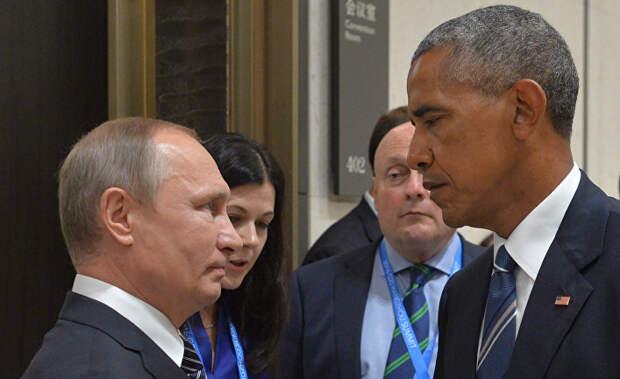 Путин — Обама: 6 : 0