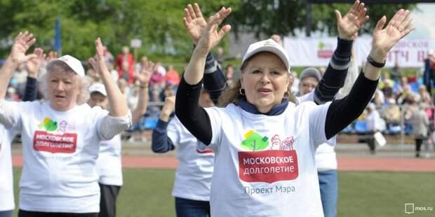 Пенсионеры из Лосинки снимают стресс современными танцами