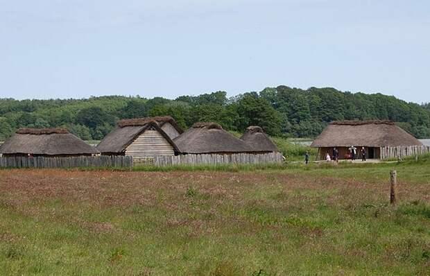 Странное планирование городов викингов.