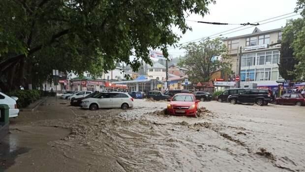 Мэр Ялты запросила помощь у командующего Черноморским флотом в борьбе со стихией