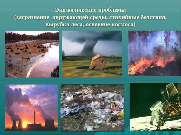 Самая масштабная проблема современности: виды загрязнений окружающей среды