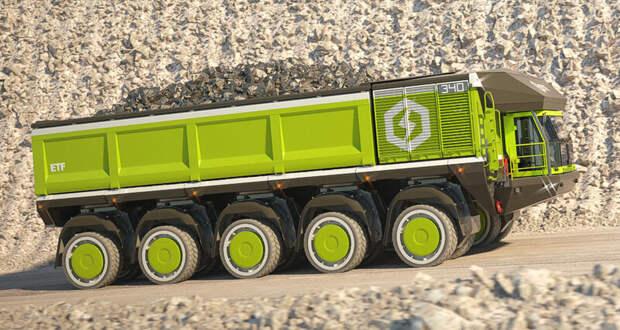 ETF Trucks, или автопоезда грузоподъемностью 6000 тонн